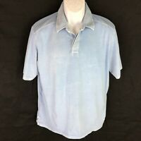 Tommy Bahama Men's Blue Polo Shirt M