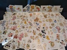 Vintage Stickers Random LOT OF 10 Morehead Cats Animals Mixed Stickers VTG