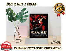 Moulin Rouge Classic Movie METAL Poster Art Print Gift