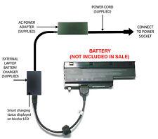External Laptop Battery Charger for Medion Akoya E7211, E7212, P7618, BTP-D5BM