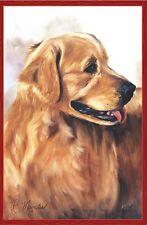 "Golden Retriever House Size (28"" x 40"" Approx) Dog Flag..10.... PR 52695"