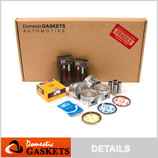 01-05 Honda Civic DX LX 1.7L VTEC Full Gasket Pistons&Bearings&Rings Set D17A1
