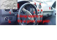 8 Alu Ringe komplett Set Aluringe für VW Caddy K2  Chrom