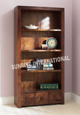 Shelves - Contemporary wood wooden bookcase book shelves rack (Big) !