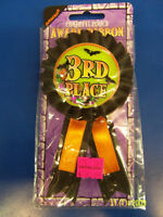 3rd Place Costume Contest Halloween Carnival Party Confetti Pouch Award Ribbon