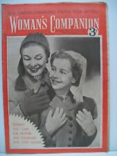 Woman's Companion Magazine. October 30th, 1954. No. 1,409. 2+ only £4.00 each.