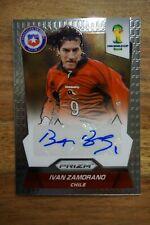 2014 Panini Prizm World Cup Signatures Iván Zamorano - Bam Bam - Real and Inter