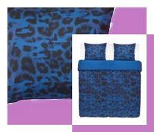 IKEA Giltig Leopard Purple Blue NEW Full/Queen Modern Duvet Cover Set Pillowcase