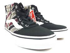 61b02e4f22fc37 VANS Maddie 11 Youth Sk8 Hi Zip Kids Shoe Skate Fashion Shoes Tribal Knit
