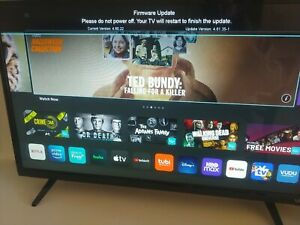 VIZIO D32H-G9 32 inc-f4 working condition with smart app with orignal remort