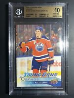2016-17 Upper Deck Jesse Puljujarvi Young Guns Canvas Rookie BGS 10 Pristine