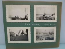"Anciennes Photos  Militaires "" T.N.A. KAMINA  ANVERS MARS 53 - HEYSEL AVRIL 53"
