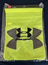 Under Armour Ozsee Sackpack UA Drawstring Backpack Gym Bag Sport High Viz Yellow
