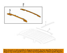 GM OEM Roof Rack Luggage Carrier-Side Rail Right 25783490