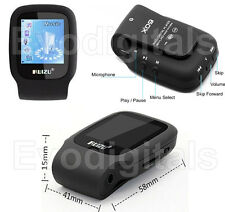 Nuevo Negro ruizu 4GB Sports Mini Lossless MP3 reproductor de MP4 Video Musical FM Sintonizador