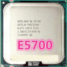 Intel Pentium E5700 CPU, Dual Core, 3.0GHz, 2MB, 800MHz Processor, SLGTH LGA 775