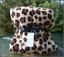 "NWT Vera Bradley Throw Blanket in Leopard - MicroFleece Plush - 50"" w x 80"" h"