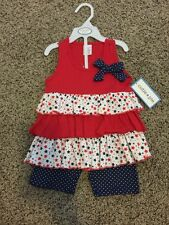 Girls 24 Month/2T 4th Of July Outfit