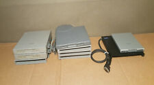 Lot of 9 3.5external floppy disk drives for vintage Toshiba and Ibm laptops