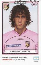 SANTIAGO GARCIA ARGENTINA US.PALERMO RARE UPDATE STICKER CALCIATORI 2011 PANINI