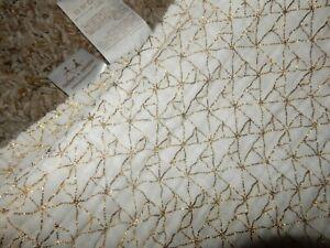 LN 47x47 Aden Anais GOLD Design Muslin Baby Swaddle Receiving Crib Blanket Lovey