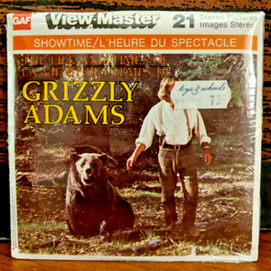 The Life and Times of Grizzly Adams Sealed 1978 View Master 3 Reel Pack