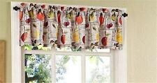 "FRUIT HARVEST Kitchen Curtain Valance 60"" W x 14"" L Printed Valance Lichtenberg"