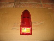 New Upper and Lower Tail Lamp Stop Light Lens  MGB MG Midget 1962-1969