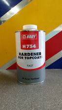 HB BODY 754 ACTIVATOR 2K FAST HARDENER 1 LITRE FOR 2K PAINT PRIMERS CLEARCOATS