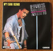Eros Ramazzotti, adesoo tu / un nuovo amore, SP - 45 tours
