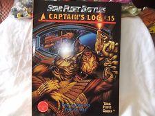 Task Force Game, Star Fleet Battles Captain's Log #15 1994, New Old Stock