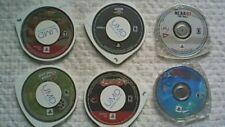 Lot of 6 Sony PSP Games (Need for Speed Carbon, SOCOM, Monster Jam, etc)