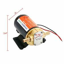 12V Self-Priming Impellor Gear Electric Pumps for Lubricants and Viscous liquids