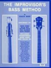 The Improvisers Bass Method by Chuck Sher (1979, Paperback)
