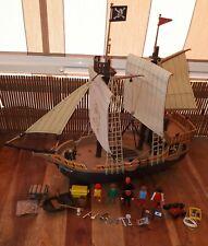 PLAYMOBIL 3750 3053 3550 barco pirata galeón pirate ship antiguo COLECCIONISTA