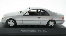 MINICHAMPS - Mercedes-Benz 600 SEC V12 W140 - silber - 1:43 - Modellauto