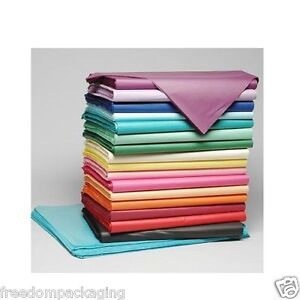 ACID FREE TISSUE PAPER - 50cm X 75cm WRAPPING GIFT PARTY SHEETS QUALITY