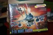 DRAGON F-16 NIGHT FALCON 1:144 SCALE MODEL KIT (NEW IN SEALED PACKAGING)