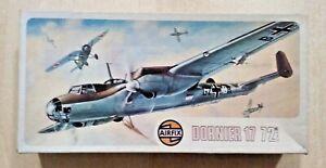 54-494 AIRFIX 1/72nd Scale DORNIER Do 17E/F Plastic Model Kit