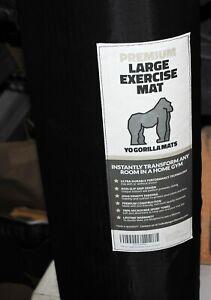 Yo Gorilla Mats Premium Large Exercise Mat 86x 4 x 1/4 Ultra Durable Home Gym