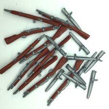 Playmobil 10 fusils baïonnettes style anglais