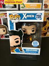 X-MEN WOLVERINE FUNKO SHOP EXCLUSIVE POP VINYL FIGURE #720 NEW + PROTECTOR