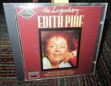 EDITH PIAF: THE LEGENDARY EDITH PIAF MUSIC CD, 20 GREAT TRACKS, 70-MIN OF MUSIC