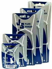 JES Wire Plate Wall Display Spring Hangers Holder select Size 0,1,2,3 -m