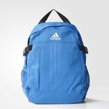 BRAND NEW $60 Adidas Power III Backpack Small AY5098 Bag Blue White