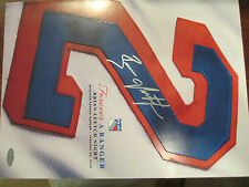 "BRIAN LEETCH New York Rangers AUTOGRAPHED RETIREMENT PROGRAM; ""Forever A Ranger"""