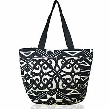Big Banjara Ethnic Tribal Bag Hobo Tote Gypsy Black Embroidery Bags Shopper