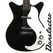 NEW DANELECTRO '59 MOD NEW OLD STOCK PLUS BLACK ELECTRIC GUITAR