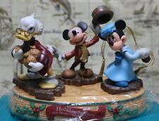 Wdcc Mickey's Christmas Carol ornament set - Mickey, Minnie, Scrooge - Nib/Coa