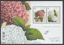 Canada - #2896 Hydrangeas Souvenir Sheet (Flowers) - MNH